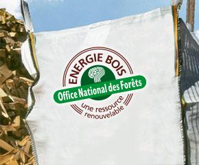 Bois de chauffage en big bag
