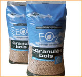 Sac granules bois EO2