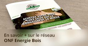 En savoir plus sur le réseau ONF Energie Bois