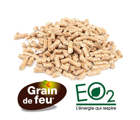 Granulés Bois - EO2 et Grain de feu®