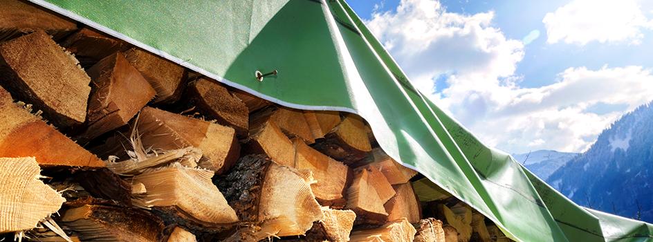 Les conseils onf energie bois pour bien stocker votre bois - Temps de sechage bois de chauffage ...