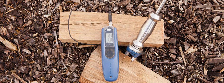 Correctement mesurer l'humidité du bois