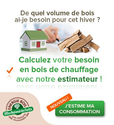 Estimez votre consommation de bois de chauffage