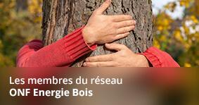 Les membres du réseau ONF Energie Bois