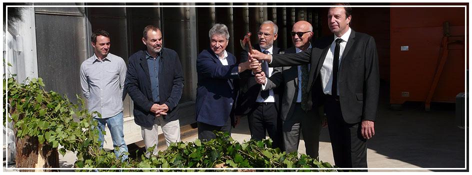 Retour sur l'inauguration du séchoir biomasse Bois Bûche Centre Atlantique