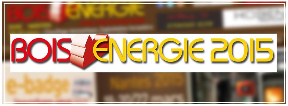 Le réseau ONF Energie Bois vous accueille au salon Bois Énergie 2015