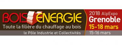 ONF Energie Bois au Salon Bois Energie 2018