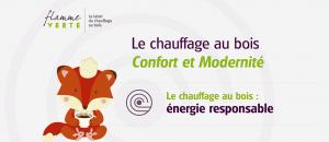 """Flamme Verte : """"Le chauffage au bois – Confort et Modernité"""""""