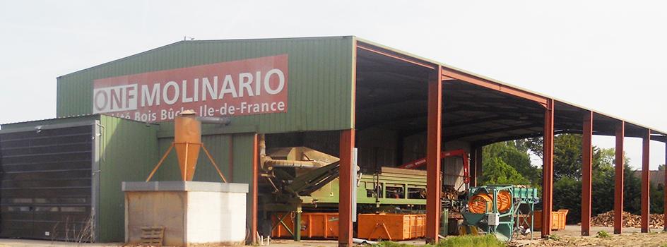 Site de production - Guibeville - ONF MOLINARIO